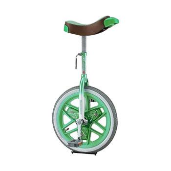 ブリヂストン製の一輪車 スケアクロウ 一輪車 グリーン 発売モデル スケアクロー SCW16GE ふるさと割