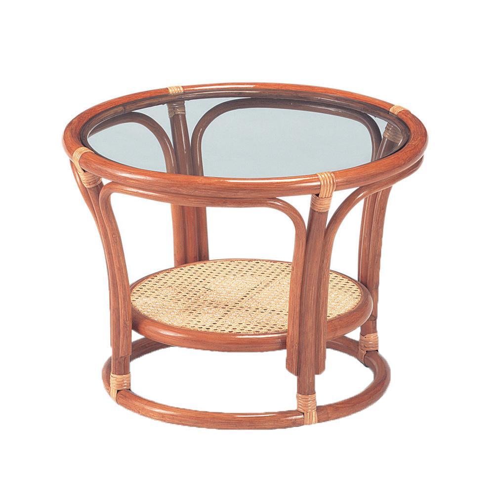 コンパクトなテーブルです 今枝ラタン 籐 テーブル NO-21A お得セット 新品■送料無料■ サイドテーブル ライトオーク