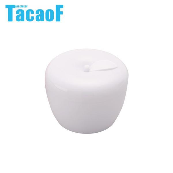 かわいいりんごのデザイン 気質アップ 幸和製作所 テイコブ 入れ歯ケース DC01 出群 TacaoF