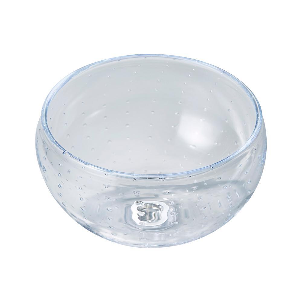 美しいガラス製の手洗い器 置き型手洗器Φ270 流行のアイテム 激安価格と即納で通信販売 クレールグラス クレールシャボン CB2-CS シリーズ