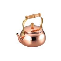 熱伝導に優れた銅製だから素早く沸かせます 食楽工房 ケトル 上等 2.4L 2020 CNE307
