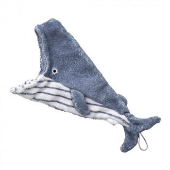 楽しく拭けるハンドタオル セトクラフト ハンドタオル 即納 SF-5843 優先配送 クジラ