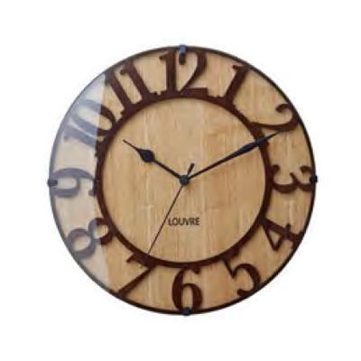 ウッド -wood- __ 掛け時計 Musee ミュゼ CL-8333