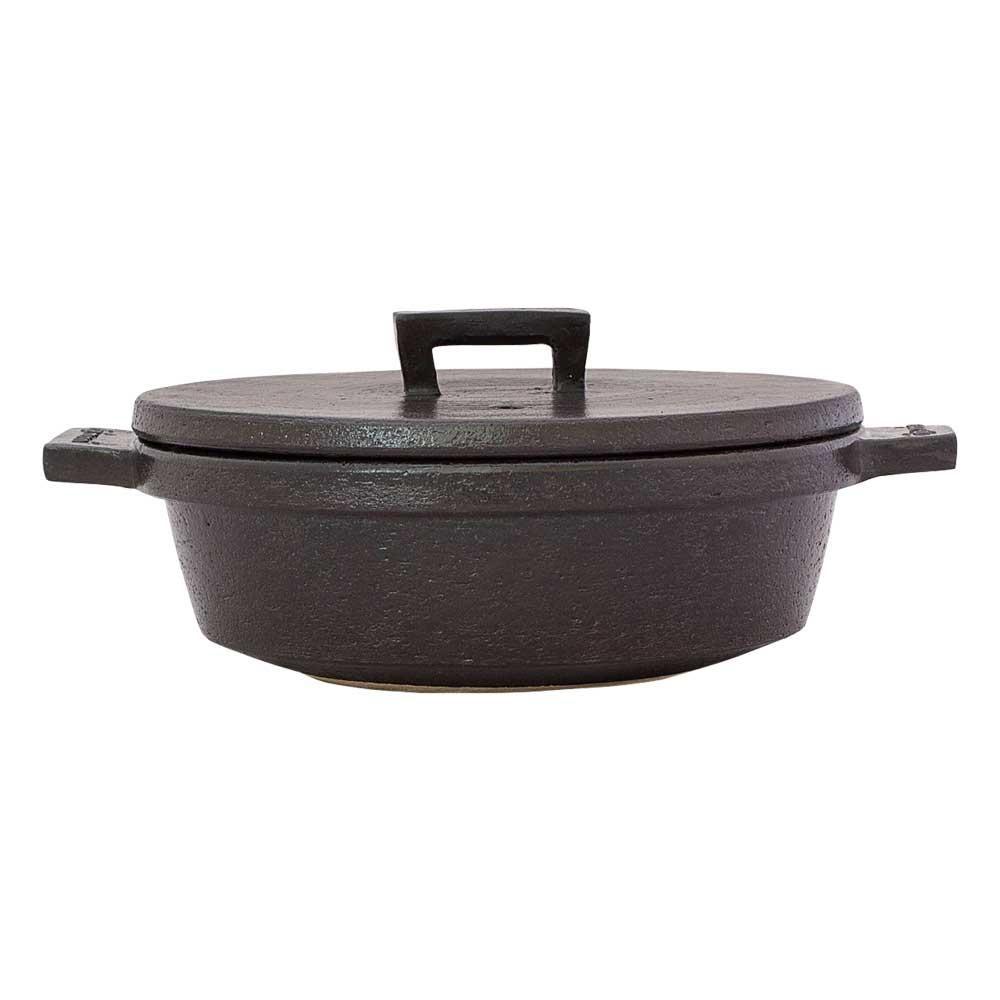 おうちで気軽にビストロメニュー 日本産 新作アイテム毎日更新 長谷園 ビストロ土鍋 クロ 15779