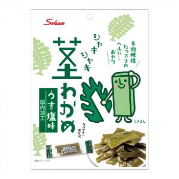 食べやすい個包装タイプ 壮関 シャキシャキ茎わかめ 毎日続々入荷 80g×72袋 うす塩味 評価