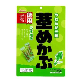 壮関 やわらか三陸産茎めかぶ ボーナスパック 120g×72袋