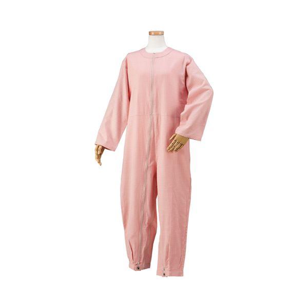 ハートフルウェアフジイ つなぎパジャマ /HP06-100 S 01ピンク