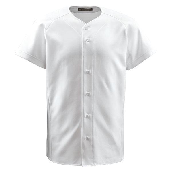 デサント(DESCENTE) フルオープンシャツ (野球) DB1011 Sホワイト L:ユニクラス オンラインショップ