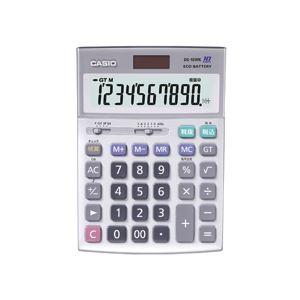 カシオ CASIO 本格実務電卓 10桁 デスクタイプ DS-10WK 1台