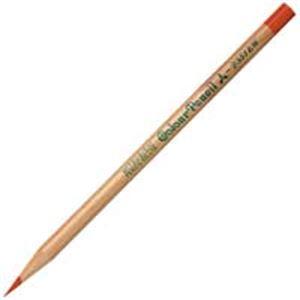 (業務用50セット) 三菱鉛筆 リサイクル色鉛筆 K2351EW 朱通 12本