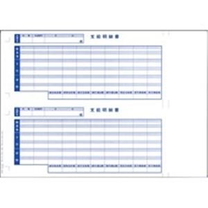 (業務用2セット) オービックビジネスコンサルタント 奉行シリーズ用専用 単票給与明細書 6101