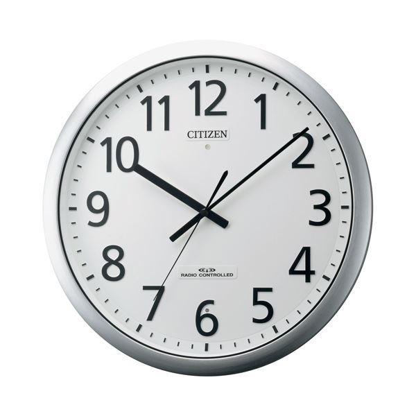 リズム時計 シチズン電波掛時計 8MY484-019