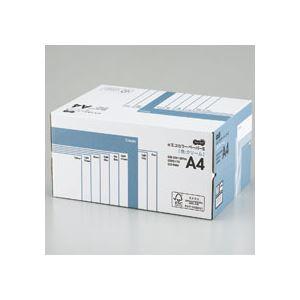 (まとめ) TANOSEE αエコカラーペーパーII A4 クリーム 業務用パック 1箱(5000枚:500枚×10冊) 【×10セット】
