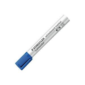(業務用300セット) ステッドラー ルモカラーWBマーカー 351-3 青