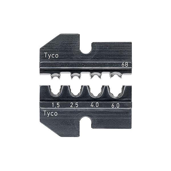 ソーラーコネクター(Tyco)用 KNIPEX(クニペックス)9749-68 圧着ダイス (9743-200用)