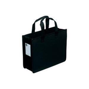 (業務用30セット) サクラクレパス オフィストートバッグJ UNT-A4J#49 黒