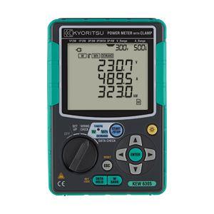共立電気計器 電力計 6305【代引不可】