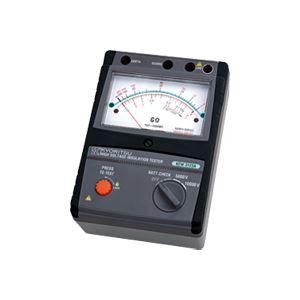 共立電気計器 アナログ絶縁抵抗計(高圧) 3123A【代引不可】