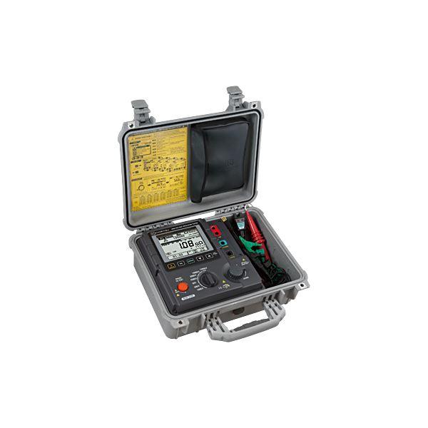 共立電気計器 アナログ絶縁抵抗計(高圧) 3128【代引不可】