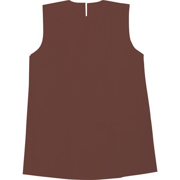 (まとめ)アーテック 衣装ベース 【S ワンピース】 不織布 ブラウン(茶) 【×30セット】