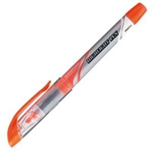 (業務用50セット) ジョインテックス 蛍光マーカー直液式 橙10本 H026J-OR-10