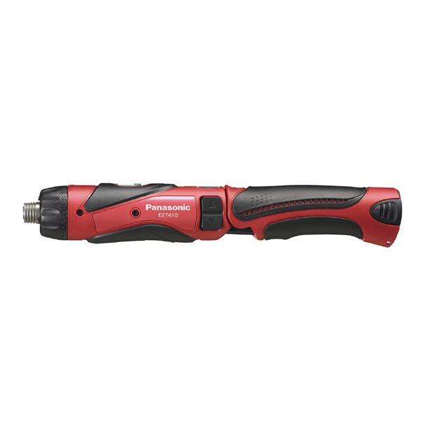 【本体のみ】Panasonic(パナソニック) EZ7410XR1 3.6V充電スティックドリルドライバ(赤)