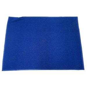 業務用 玄関マット/PVCコイルマット 【ブルー】 120cm×180cm 長方形 屋外用 土砂防止仕様 『Funderful』 〔入口〕