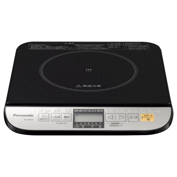パナソニック(家電) IH調理器 (ブラック) KZ-PH33-K