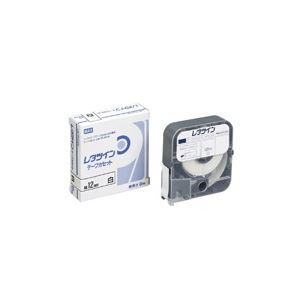 (業務用60セット) マックス レタツインテープ LM-TP312W 白 12mm×12m