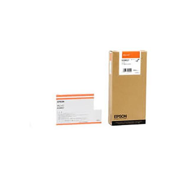(業務用3セット) 【純正品】 EPSON エプソン インクカートリッジ 【ICOR57 オレンジ】