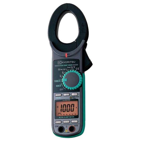 共立電気計器 キュースナップ・AC/DC電流測定用クランプメータ 2056R【代引不可】