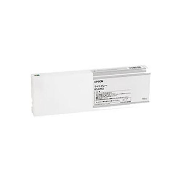 (業務用3セット) 【純正品】 EPSON エプソン インクカートリッジ 【ICLGY52 ライトグレー】