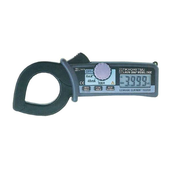 共立電気計器 キュースナップ・漏れ電流・負荷電流測定用クランプメータ 2432【代引不可】
