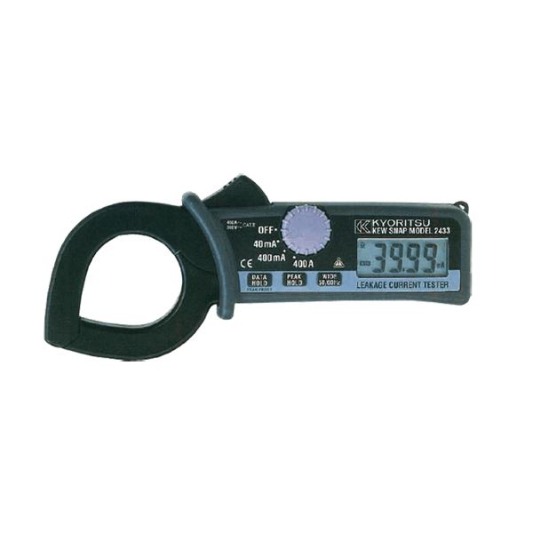 共立電気計器 キュースナップ・漏れ電流・負荷電流測定用クランプメータ 2433【代引不可】
