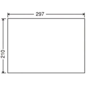 (業務用3セット) 東洋印刷 ナナ コピー用ラベル C1Z A4/全面 500枚