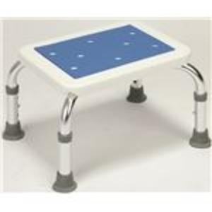 シャワーベンチ&ステップセット(シャワーチェアー ) アルミ製 高さ段階調整可 (入浴用品/介護用品)【代引不可】