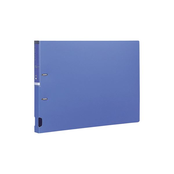 (業務用セット) Dリングファイル A3E型 RF1112B-N ブルー【×10セット】