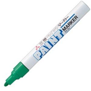 (業務用200セット) 三菱鉛筆 油性ペン/ペイントマーカー 【中字/丸芯】 不透明性インク PX-20.6 緑