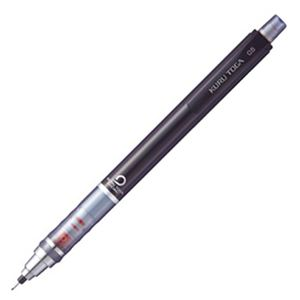 (まとめ) 三菱鉛筆 シャープ SHARPペンシル クルトガ スタンダードモデル 0.5mm (軸色 ブラック) M54501P.24 1本 【×20セット】
