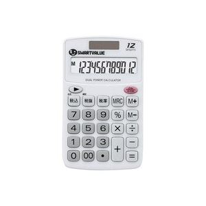 (業務用100セット) ジョインテックス ハンディ電卓 ホワイト K073J