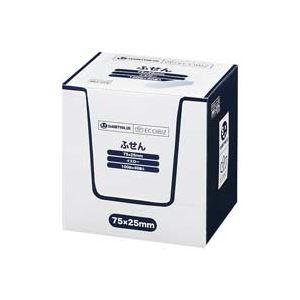 (業務用30セット) ジョインテックス 付箋/貼ってはがせるメモ 【75×25mm/黄】 100枚*40冊 P510J-Y-40