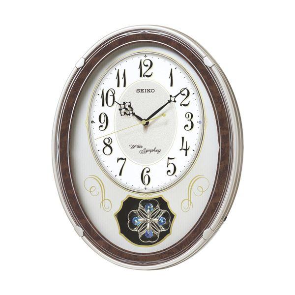 セイコー ウェーブシンフォニー 電波正時メロディ掛時計 C8061114 C9061580