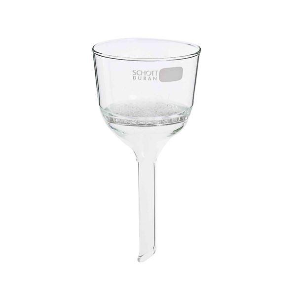 【柴田科学】ブフナーロート ガラス目皿板封じ込み形 220mL 015400-220