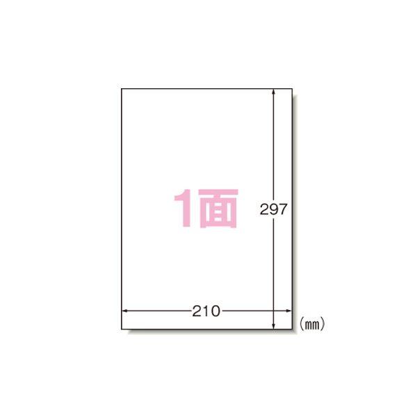 (業務用セット) エーワン ラベルシール〈インクジェット〉 マット紙(A4判) 100枚入 28908 【×2セット】