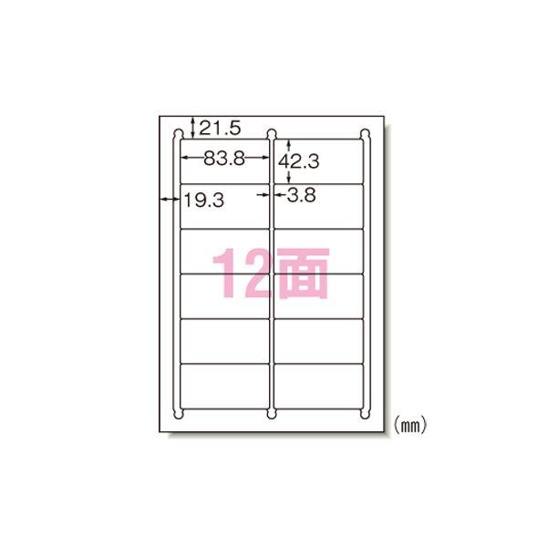 (業務用セット) エーワン ラベルシール〈インクジェット〉 マット紙(A4判) 100枚入 28916 【×2セット】