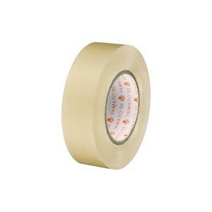 (業務用300セット) ヤマト ビニールテープ/粘着テープ 【19mm×10m/透明】 NO200-19