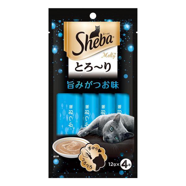 (まとめ) SMT21シーバメルティ旨みがつお味×4P 【猫用フード】【ペット用品】 【×48セット】