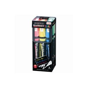 (業務用30セット) 三菱鉛筆 ブラックボードポスカ中字8色PCE-200-5M 8C