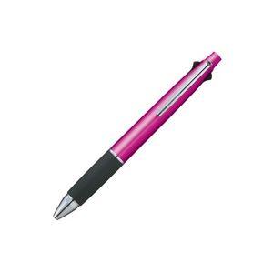 (業務用50セット) 三菱鉛筆 多機能ペン Jストリーム4&1 【シャープ芯径0.5mm/ボール径0.7mm】 ノック式 ピンク MSXE510007.13
