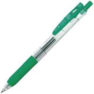 (業務用500セット) ZEBRA ゼブラ ボールペン サラサクリップ 【0.5mm/緑】 ゲルインク ノック式 JJ15-G
